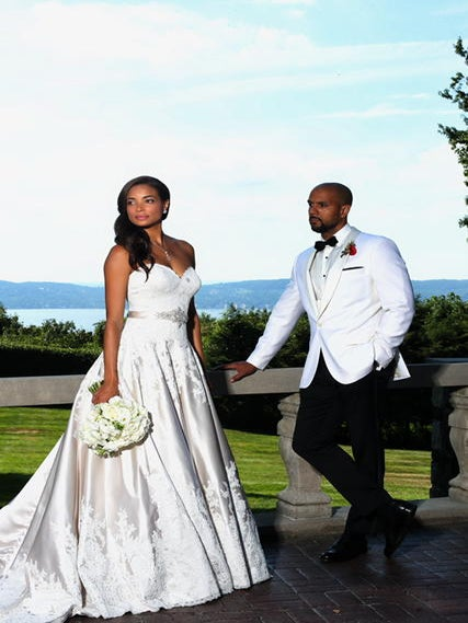 'Mistresses' Star Rochelle Aytes Marries C.J. Lindsey